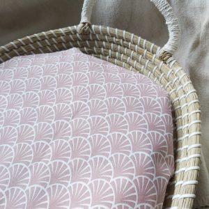 erzorgingsmand waterafstotend hoesje wafel oud roze